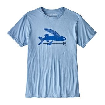 Tee-shirt MC homme FLYING FISH ORG railroad blue