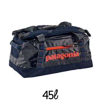 Bolsa de viaje 45L BLACK HOLE DUFFEL navy blue w/paintbrush red