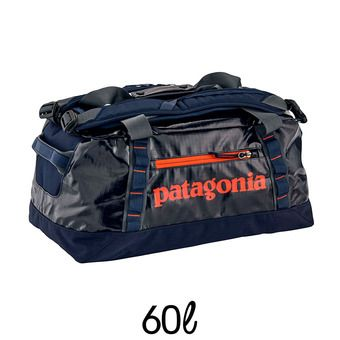 Bolsa de viaje 60L BLACK HOLE DUFFEL navy blue w/paintbrush red