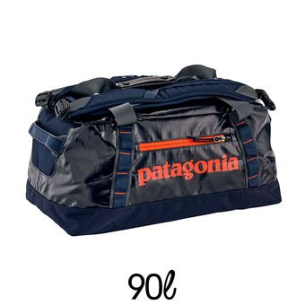 Sac de voyage 90L BLACK HOLE DUFFEL navy blue w/paintbrush red