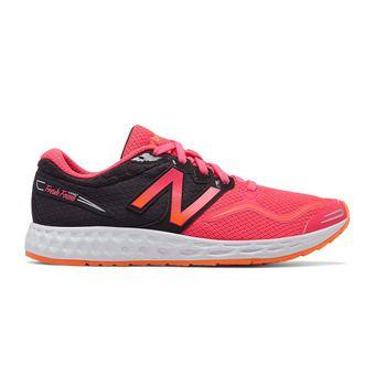 Chaussures running femme VENIZ black/pink