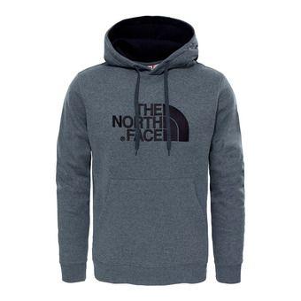 Sweat à capuche homme DREW PEAK tnf medium grey heather (std)/tnf black