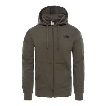 Sudadera hombre OPEN GATE FZ new taupe green