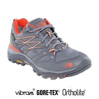 Zapatillas Gore-Tex® mujer HEDGEHOG FASTPACK q-silver grey/desert flower orange