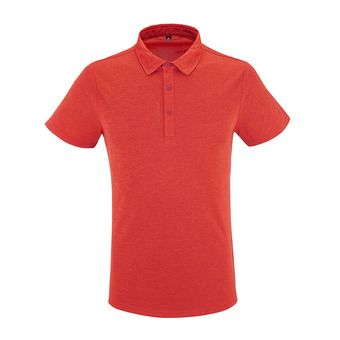 Polo MC homme SHIFT vibrant red
