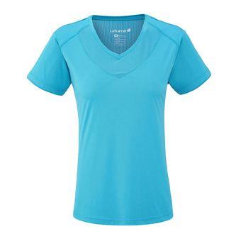 Tee-shirt MC femme TRACK caribbean blue