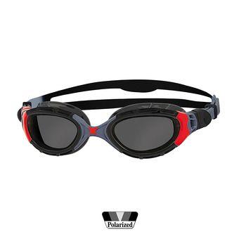 Lunettes de natation polarisées PREDATOR FLEX black/red/smoke