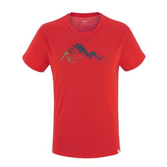 Tee-shirt MC homme KIDSTON rouge eider