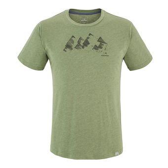 Tee-shirt MC homme YULTON dark khaki mountains