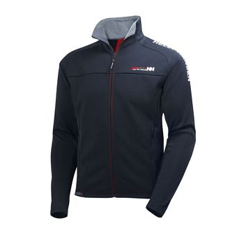 Veste polaire lisse HP FLEECE navy