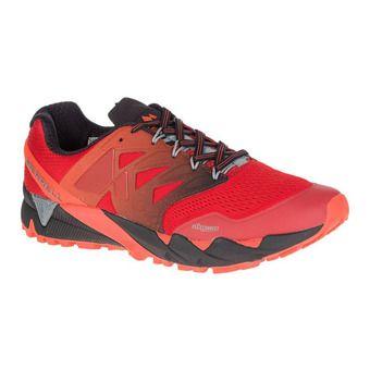 Zapatillas de trail hombre AGILITY PEAK FLEX 2 E-MESH spicy orange