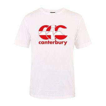 Camiseta hombre TEAM PLAIN white savoie