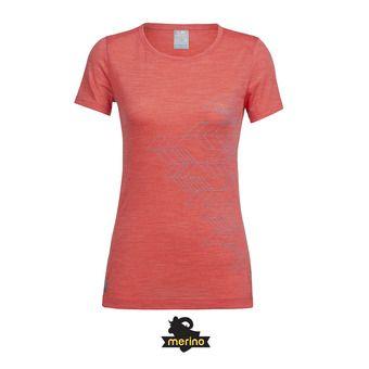 Tee-shirt MC femme SPERE poppy red