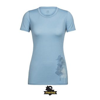 Tee-shirt MC femme TECH LITE waterfall