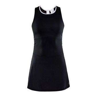 Vestido mujer BREAKAWAY negro/blanco