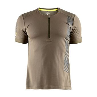 Maillot MC homme GRIT olive/snap