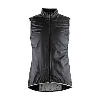 Veste sans manches femme LITHE noir