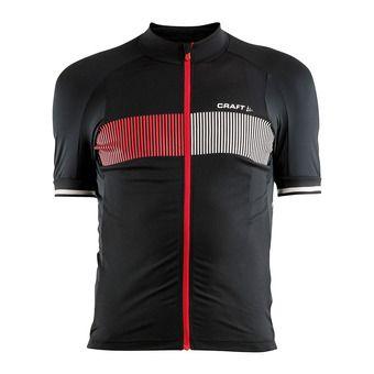 Camiseta hombre VERVE GLOW negro/rojo