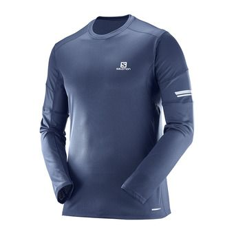 Maillot ML homme AGILE dress blue