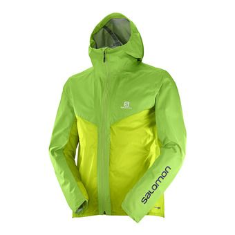 Veste homme OUTSPEED HYBRID greenery/acid lime