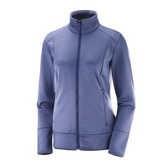 Polaire femme DISCOVERY FZ crown blue heather