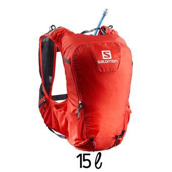 Mochila de hidratación 15L SKIN PRO fiery red/graphite