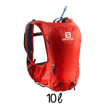 Mochila de hidratación 10L SKIN PRO fiery red/graphite