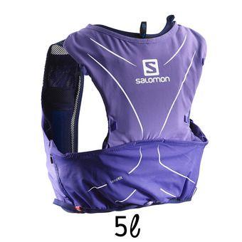 Chaleco de hidratación 5L ADV SKIN purple opu/medieval