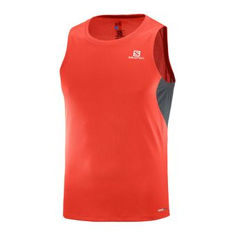 Maillot sans manches homme AGILE fiery red