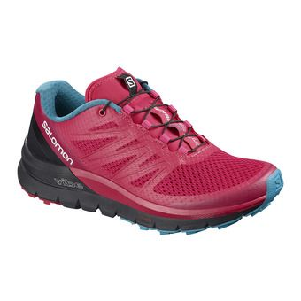 Chaussures trail femme SENSE PRO MAX virtual pink/black/blue