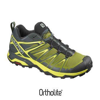 Zapatillas de senderismo hombre X ULTRA 3 darkest spruce/guacamole