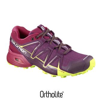 Zapatillas trail mujer SPEEDCROSS VARIO 2 dark purple/cerise/lime