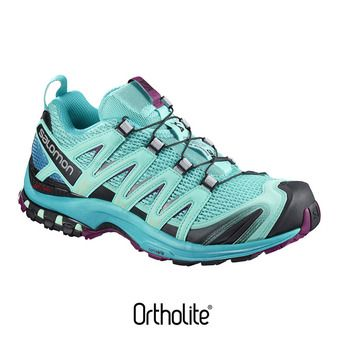 Zapatillas trail mujer XA PRO 3D blue curac/blue bird/dark purple