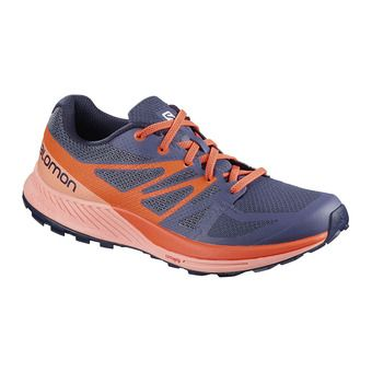 Chaussures trail femme SENSE ESCAPE crown blue/coral almond