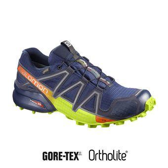 Zapatillas trail hombre SPEEDCROSS 4 GTX® medieval blue/acid lime