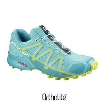 Zapatillas trail mujer SPEEDCROSS 4 blue curac/bluebi/a