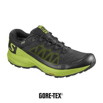 Zapatillas de trail hombre XA ELEVATE GTX® black/lime green