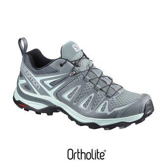 Chaussures randonnée femme X ULTRA 3 lead/stormy wea/blue