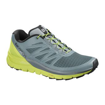 Chaussures trail homme SENSE PRO MAX stormy weather/acid lime
