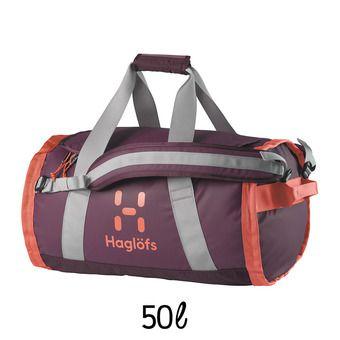 Sac de sport 50L LAVA aubergine/coral pink