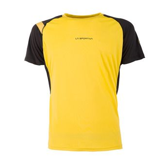 Maillot MC homme MOTION yellow/black