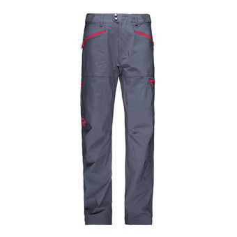 Pantalon homme FALKETIND FLEX™1 cool black/crimson kick