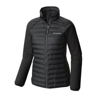 Anorak híbrido mujer FLASH FORWARD black