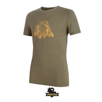 Tee-shirt MC homme ALNASCA iguana