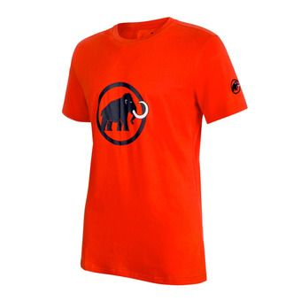 Tee-shirt MC homme MAMMUT LOGO dark orange/marine