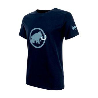 Tee-shirt MC homme MAMMUT LOGO marine/cloud