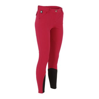 Pantalon femme BOSTON rouge cerise