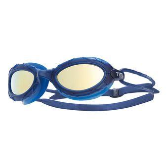 Lunettes de natation NEST PRO MIRRORED gold/navy