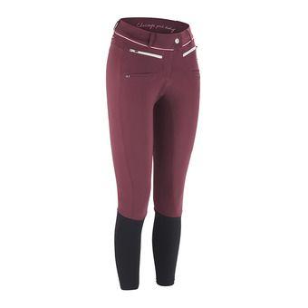 Pantalon femme X BALANCE II bordeaux