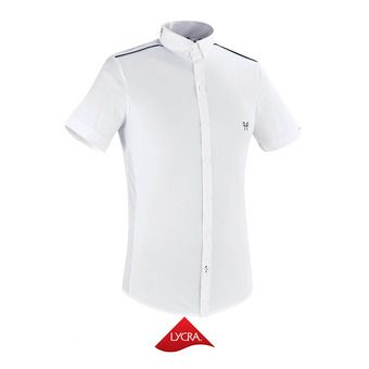 Chemise de concours MC homme AERIAL II blanc
